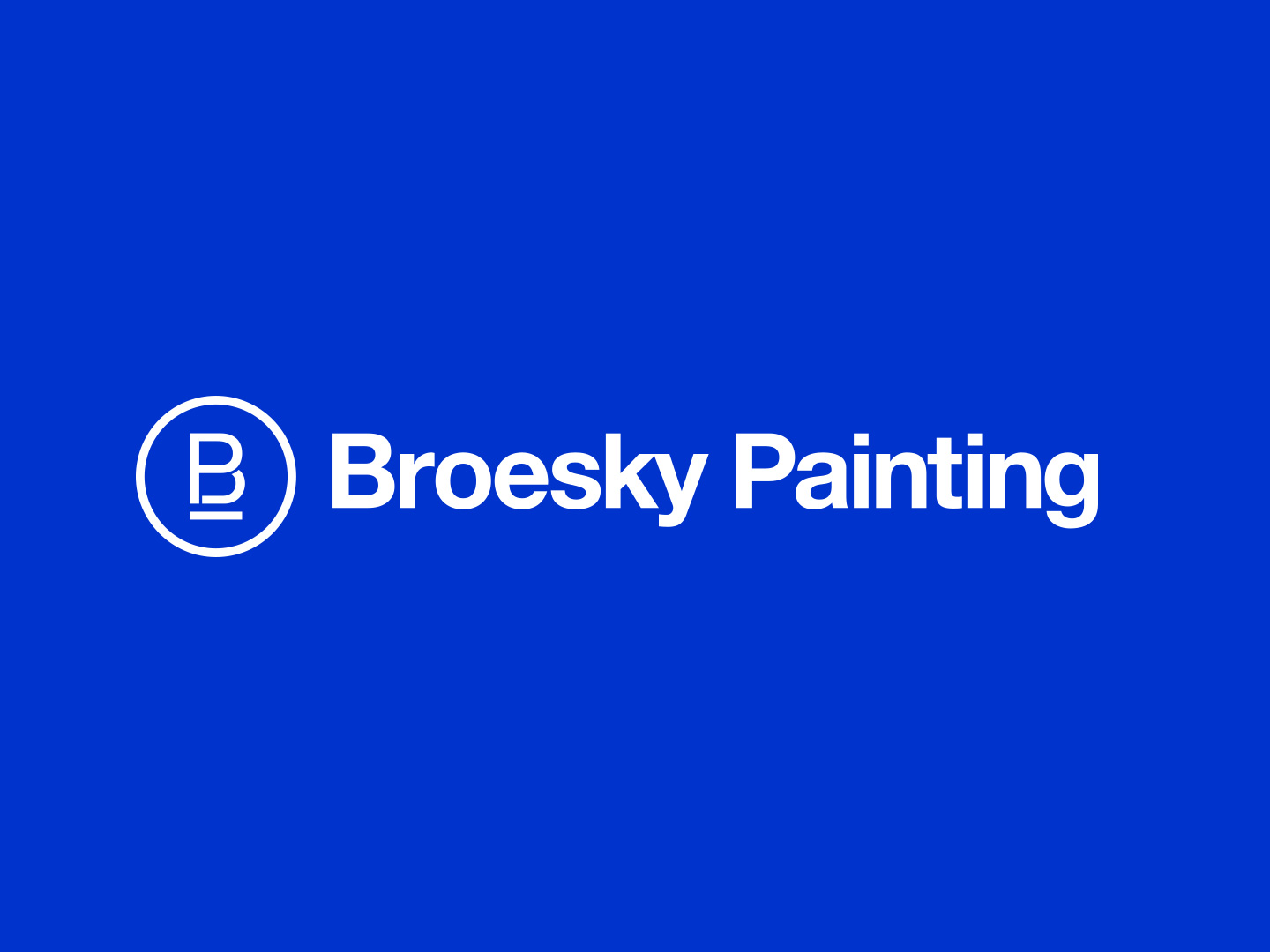 Broesky Painting logo